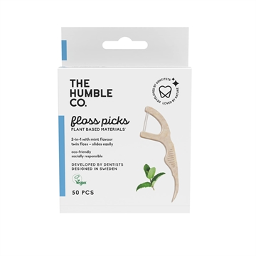 The Humble Co. - Dental Floss Picks (50-Pack)