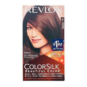 Dye No Ammonia Colorsilk Revlon Brown