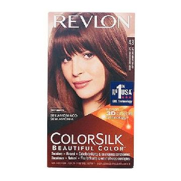 Dye No Ammonia Colorsilk Revlon Golden brown