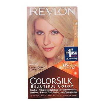 Dye No Ammonia Colorsilk Revlon Ash blonde