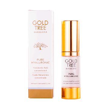 Facial Serium with Hyaluronic Acid Pure Hyaluronic Gold Tree Barcelona