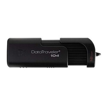 Minnessticka Kingston DT104 USB 2.0 Svart