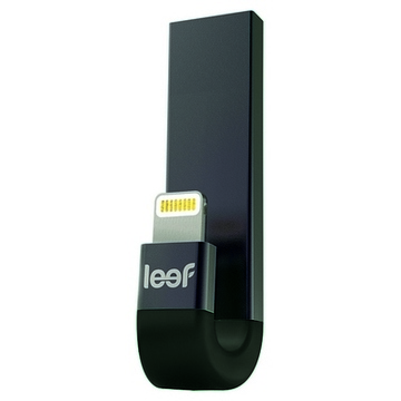 Lightning-minne med tryck Leef iBridge 3 USB 3.1 Svart