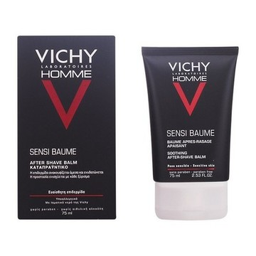 After shave-balm Homme Sensi Baume Vichy (75 ml)