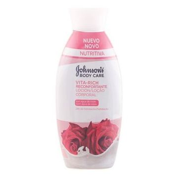 Comforting Rose Body Lotion Vita-rich Johnson's 11005