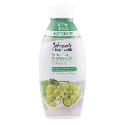 Revitalising Grape Body Lotion Vita-rich Johnson\'s 11029