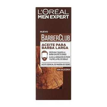 Beard Oil Men Expert Barber Club L'Oreal Make Up (30 ml)