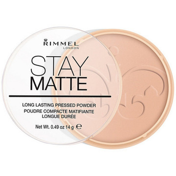 Compact Powders Stay Matte Rimmel London 005 - silky beige 14 g