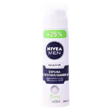 Shaving Foam Men Sensitive Nivea 250 ml