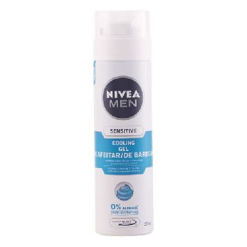 Shaving Gel Men Sensitive Cool Nivea 200 ml