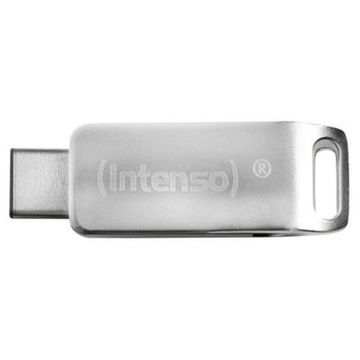 USB-minne INTENSO 3536490 64 GB Silvrig