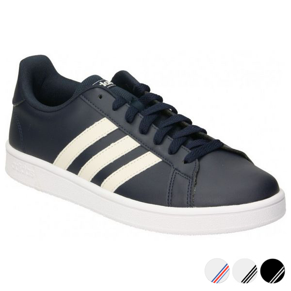 Sportskor Casual Herr Adidas Grand Court Base Svart,44