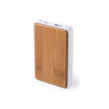 Power Bank 4000 mAh Bambu 146150 Naturlig