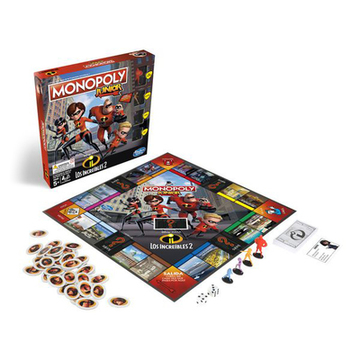 Incredibles Junior Monopoly Hasbro