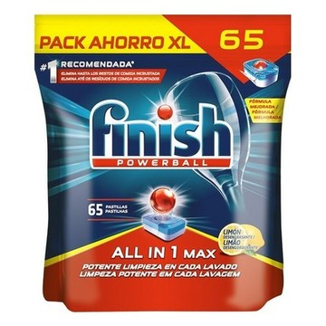 Diskmaskin kapslar Finish All in One Lemon 65 St