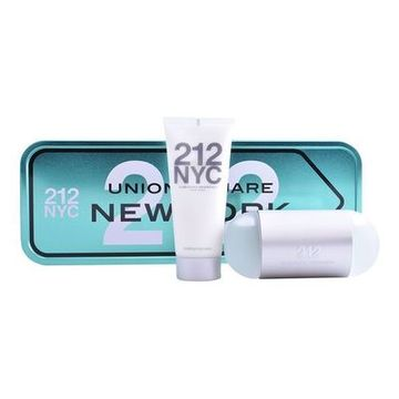 Parfymset Damer 212 Nyc Carolina Herrera (2 pcs)