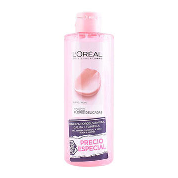 Ansiktstoner Flowers L'Oreal Make Up (400 ml)