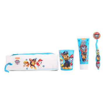 Set Oral Care for Kids The Paw Patrol Cartoon (4 pcs)