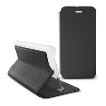 Folio-fodral för mobil Iphone 6 Slim Svart