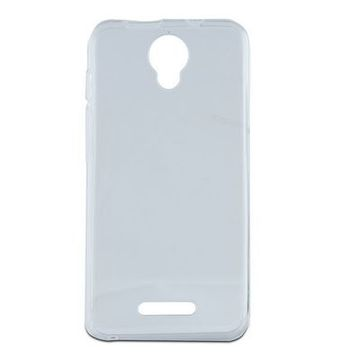 Mobilfodral Alcatel Pixi 4 (5)/orange Rise 51 Flex TPU Transparent