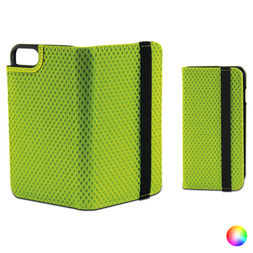 Folio Mobile Phone Case with Elastic Iphone 7 Sport Grön