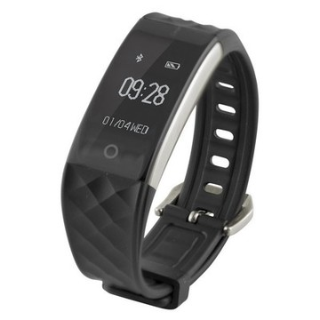"Aktivitetsarmband Fitness Band HR 0,96"" Bluetooth 90 mAh Svart"