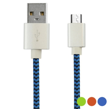 USB-kabel till mikro-USB 1 m Orange
