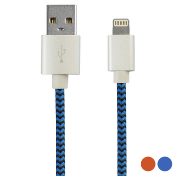 Kabel USB till Lightning 1 m Orange