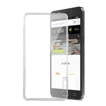 Mobilfodral Alcatel A5 Led Flex TPU Transparent