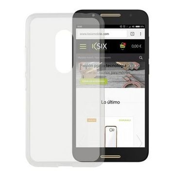 Mobilfodral Alcatel A7 Flex TPU Transparent