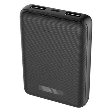 Power Bank KSIX 10000 mAh Svart
