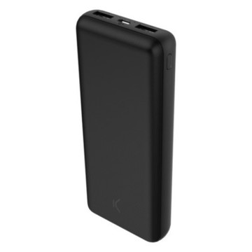 Power Bank KSIX 20000 mAh Svart