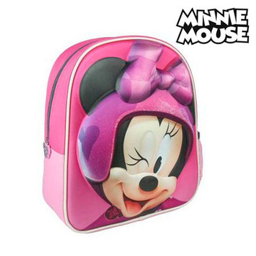 Skolryggsäck 3D Minnie Mouse 8003