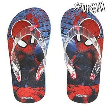 Flip-flops med LED-ljus Spiderman 73084