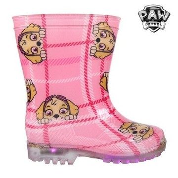 Children's Water Boots with LEDs The Paw Patrol 73480 Rosa 25