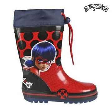 Children's Water Boots Lady Bug 7299 (storlek 24)