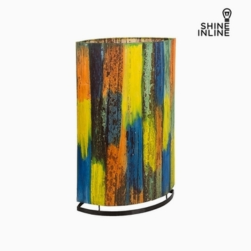 Lampa Multicolour Bananblad (19 x 34 x 54 cm) by Shine Inline