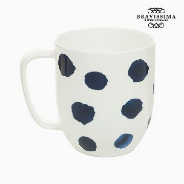 Cup Porslin Mus Blue - Kitchen's Deco Samling by Bravissima Kitchen