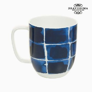 Cup Porslin Terek Blues - Kitchen's Deco Samling by Bravissima Kitchen