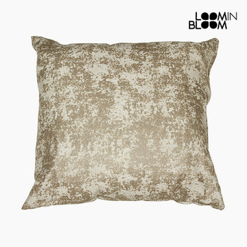 Fotpall Champagne (90 x 90 x 25 cm) by Loom In Bloom
