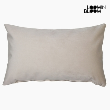 Kudde Polyester Beige (30 x 50 x 10 cm) by Loom In Bloom