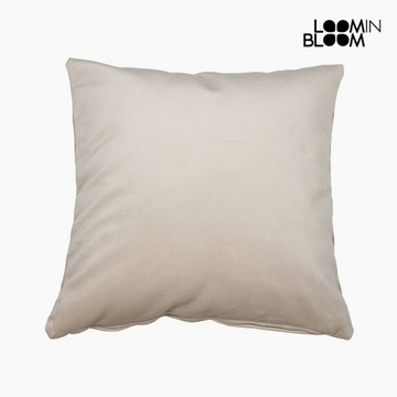 Kudde Polyester Beige (45 x 45 x 10 cm) by Loom In Bloom