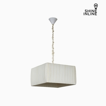 Taklampa Bomull Polyester (40 x 40 x 22 cm) by Shine Inline