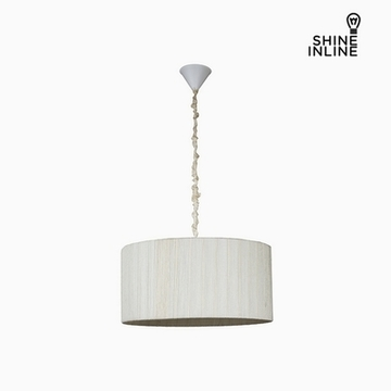 Taklampa Bomull Polyester (45 x 45 x 22 cm) by Shine Inline