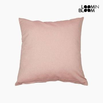 Kudde Bomull och polyester Rosa (60 x 60 x 10 cm) by Loom In Bloom