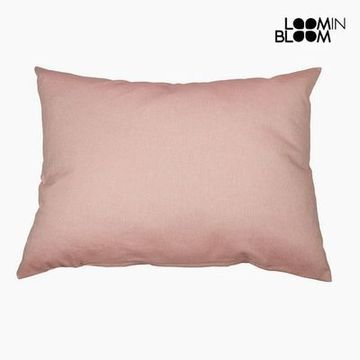 Kudde Bomull och polyester Rosa (50 x 70 x 10 cm) by Loom In Bloom