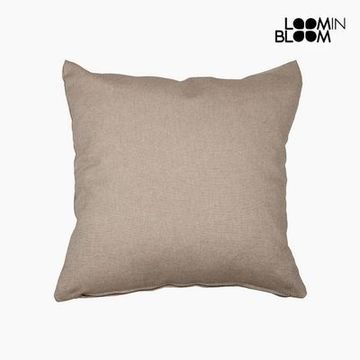 Kudde Bomull och polyester Brun (60 x 60 x 10 cm) by Loom In Bloom
