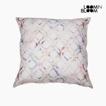 Kudde Bomull Rosa (60 x 60 x 10 cm) by Loom In Bloom