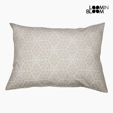 Kudde Bomull och polyester Beige (50 x 70 x 10 cm) by Loom In Bloom