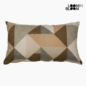 Kudde Bomull och polyester Beige (30 x 50 x 10 cm) by Loom In Bloom